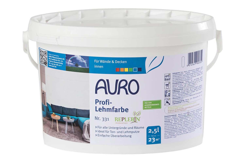 Auro Profi-Lehmfarbe Nr. 331
