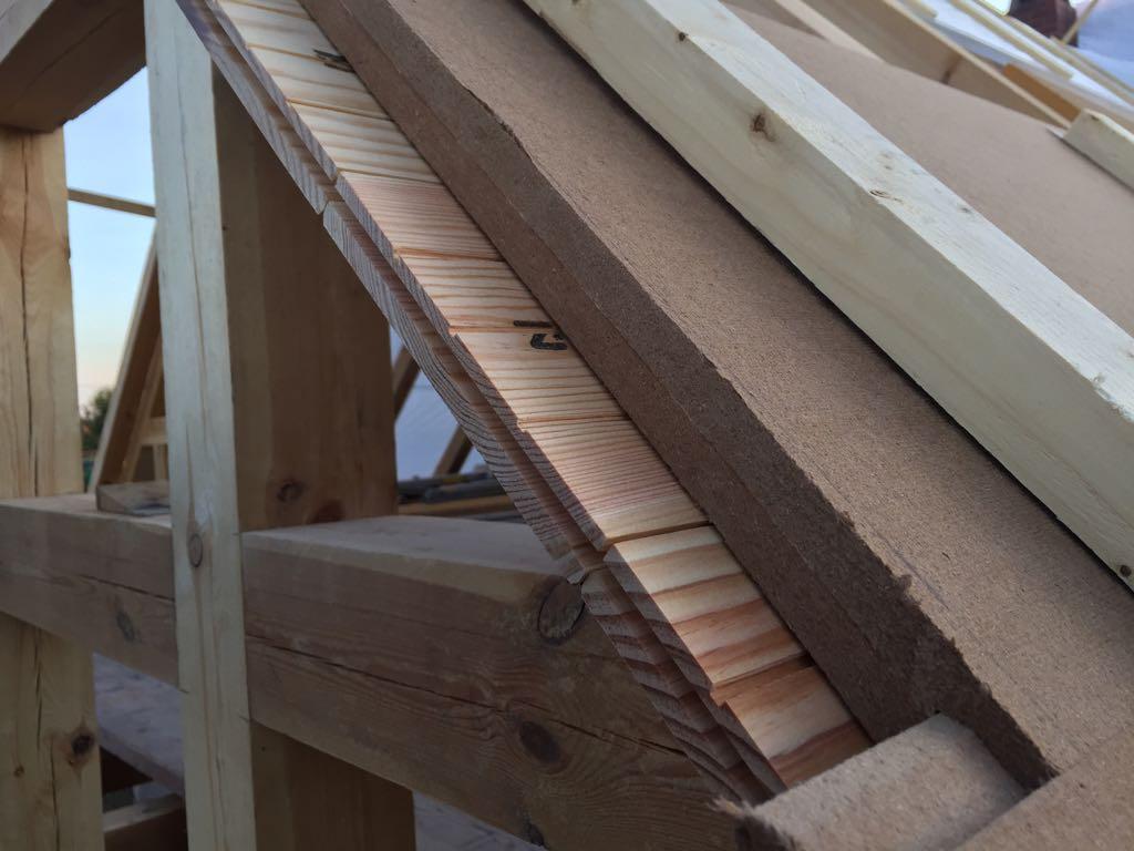 Holzfaserdämmung im Dachgeschoss