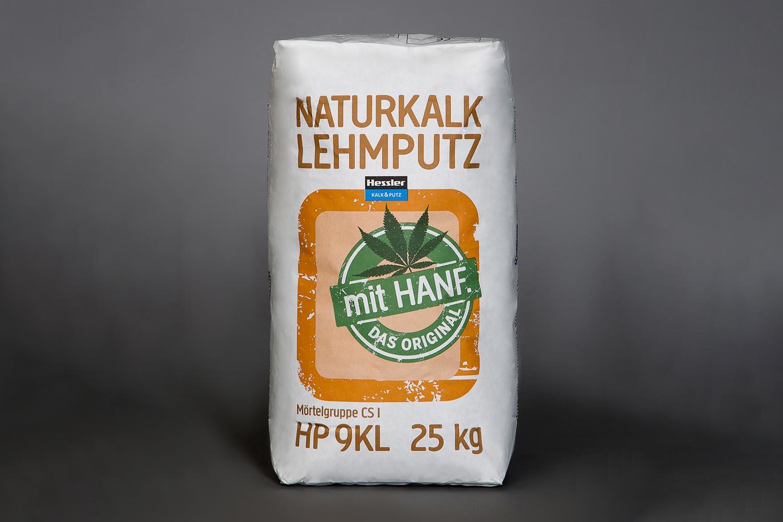 Hessler HP 9KL Naturkalk-Lehm-Grundputz mit Hanf