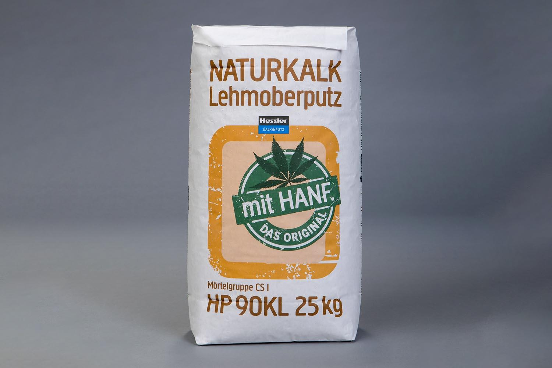 Hessler HP 90 KL Naturkalk-Lehmoberputz mit Hanf