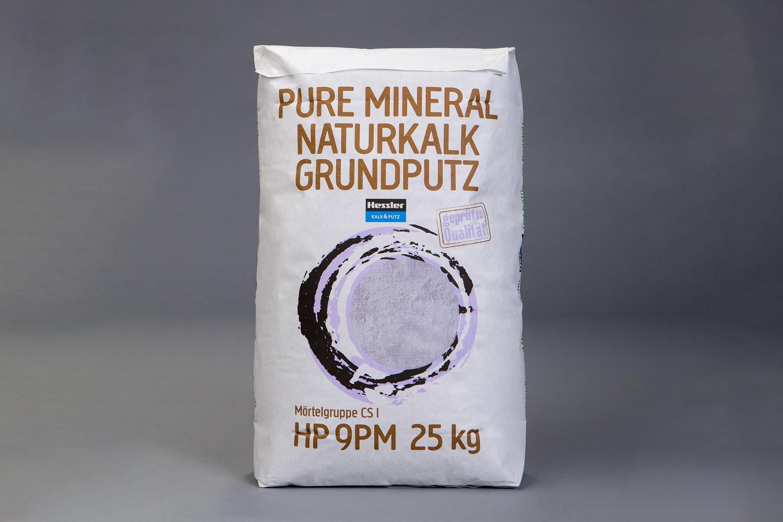 Hessler HP 9 Pure Mineral Naturkalk Grundputz