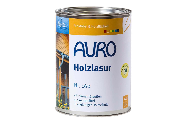 Auro Holzlasur Aqua Nr. 160 - Kiefer