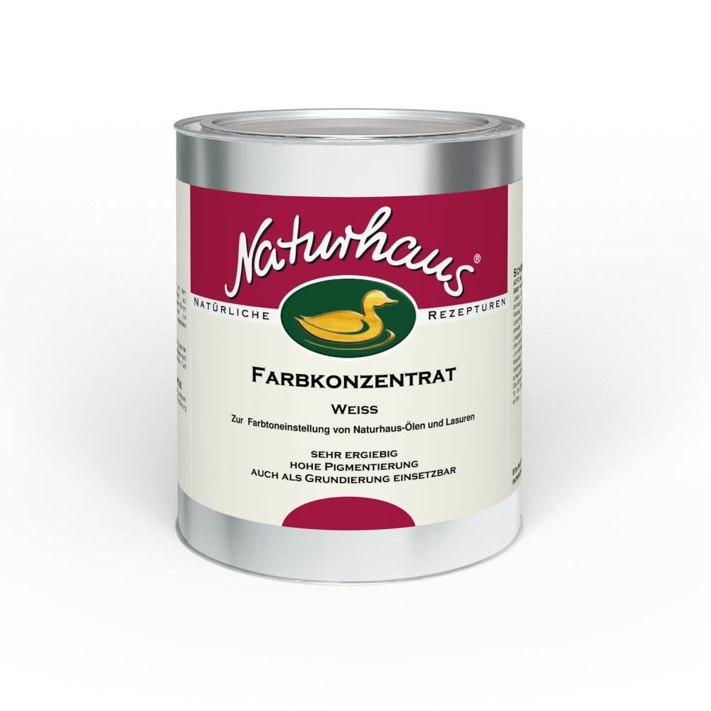 Naturhaus Abtönöl Weiß