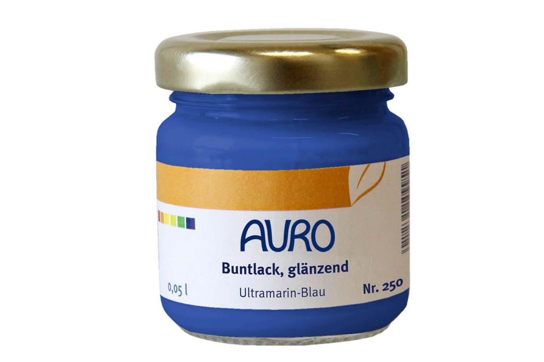 Auro Buntlack glänzend Nr. 250 - Ultramarin-Blau