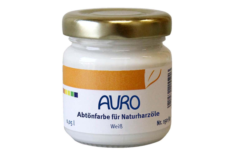 Auro Abtönfarbe für Naturharzöle Nr. 150 - Weiß