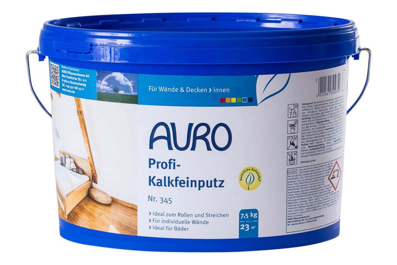 Auro Profi-Kalkfeinputz Nr. 345