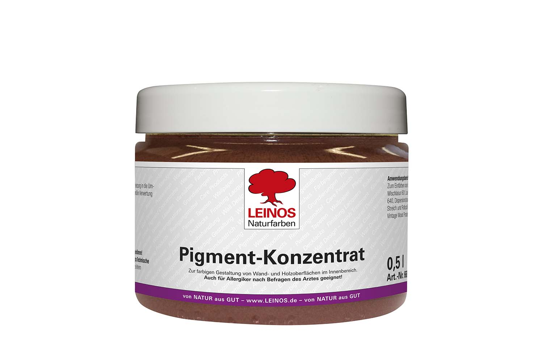 Leinos Pigment-Konzentrat 668 Eisenoxid Mahagoni