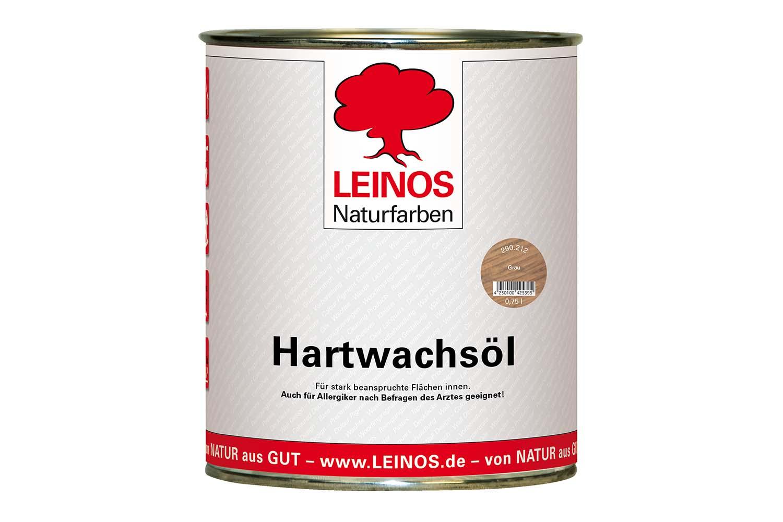 Leinos Hartwachsöl 290 Grau