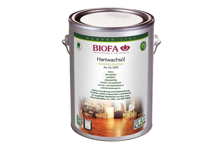 Biofa Hartwachsöl, seidenglänzend