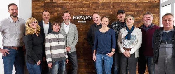 Mitarbeiter von Henjes am Firmensitz in Oyten