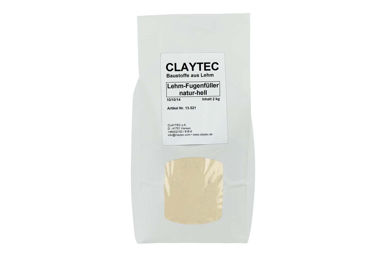Claytec Lehm-Fugenfüller natur-hell