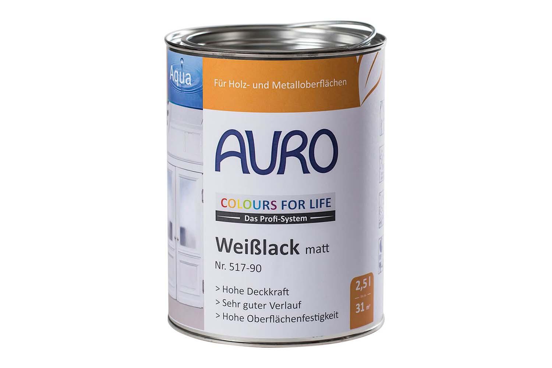 Auro Weißlack matt Nr. 517 Colours for Life