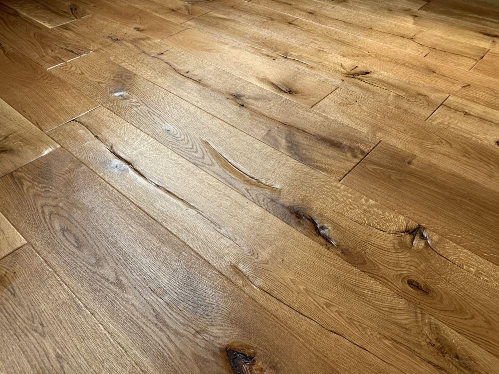 Holzfußböden tragen zu einem gesunden Raumklima bei