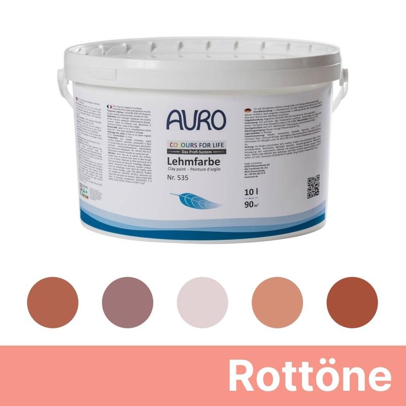 Auro Colours for Life Lehmfarben - Rot