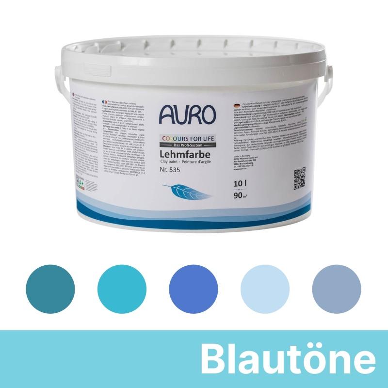 Auro Colours for Life Lehmfarben - Blau