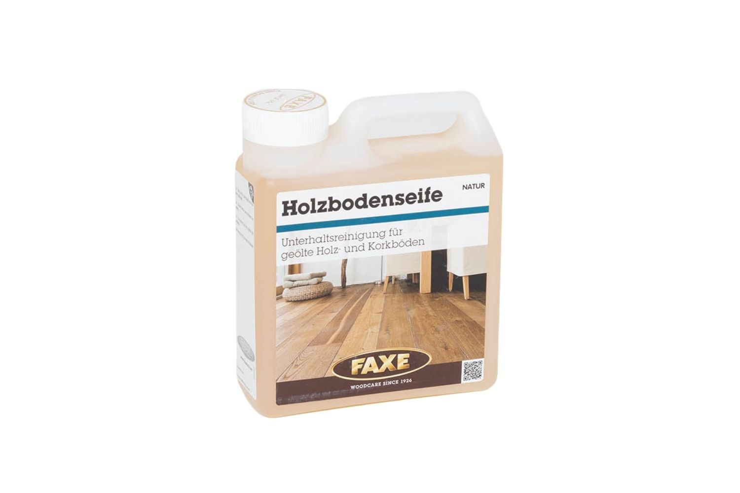 FAXE Holzbodenseife natur