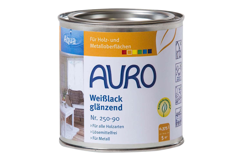 Auro Buntlack glänzend Nr. 250 - Weißlack, Aqua