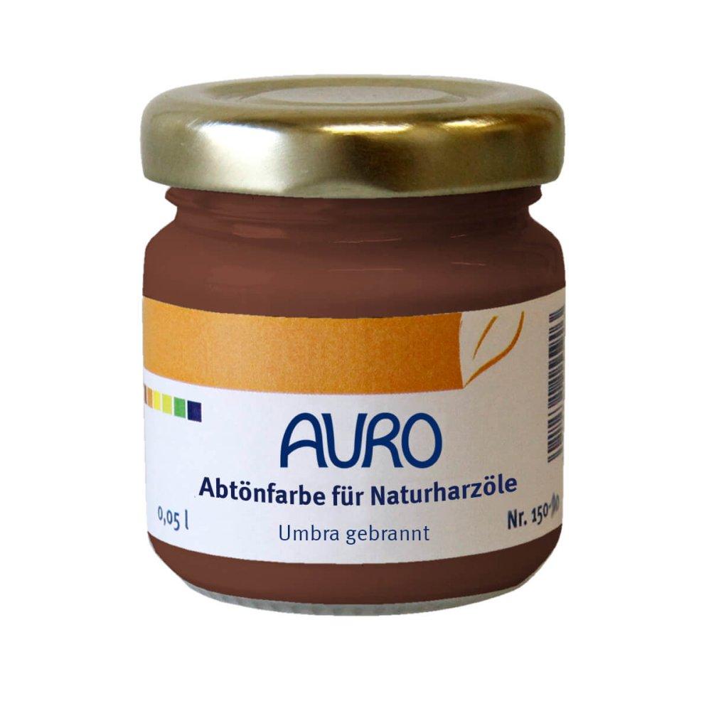 Auro Abtönfarbe für Naturharzöle Nr. 150 - Umbra gebrannt