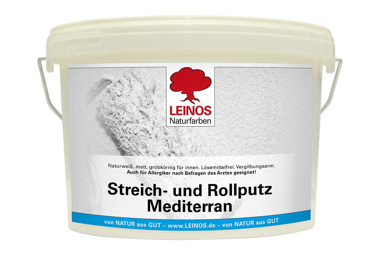 Leinos Streich- und Rollputz 680 Mediterran