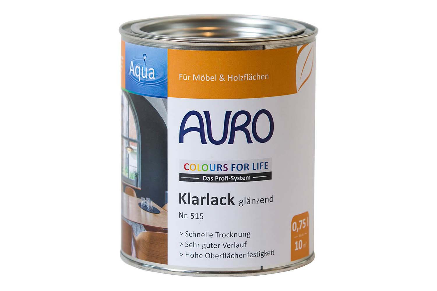 Auro Klarlack glänzend Nr. 515 Colours for Life