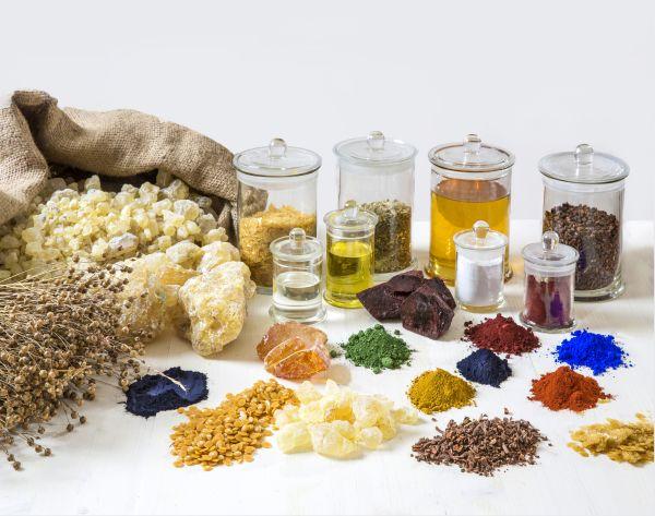 Rohstoffe von Auro-Produkten