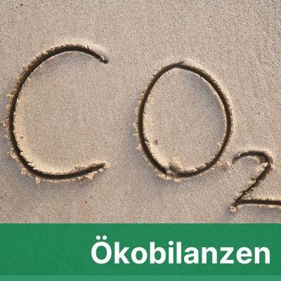 CO 2 in Sand geschrieben