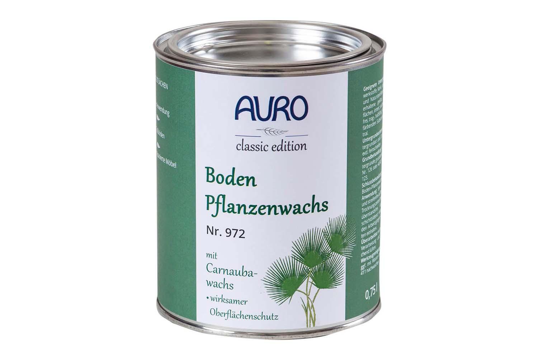 Auro Bodenpflanzenwachs Nr. 972