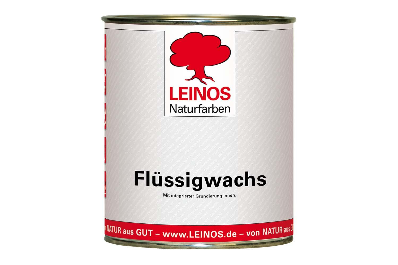 Leinos Flüssigwachs mit integrierter Grundierung 342