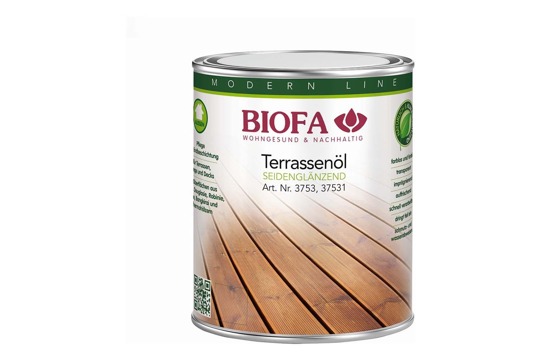 Biofa Terrassenöl farblos