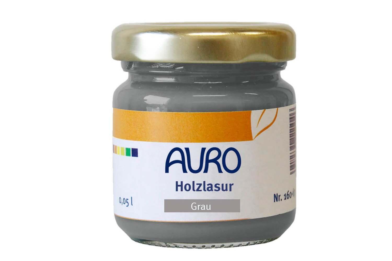 Auro Holzlasur Aqua Nr. 160 - Grau