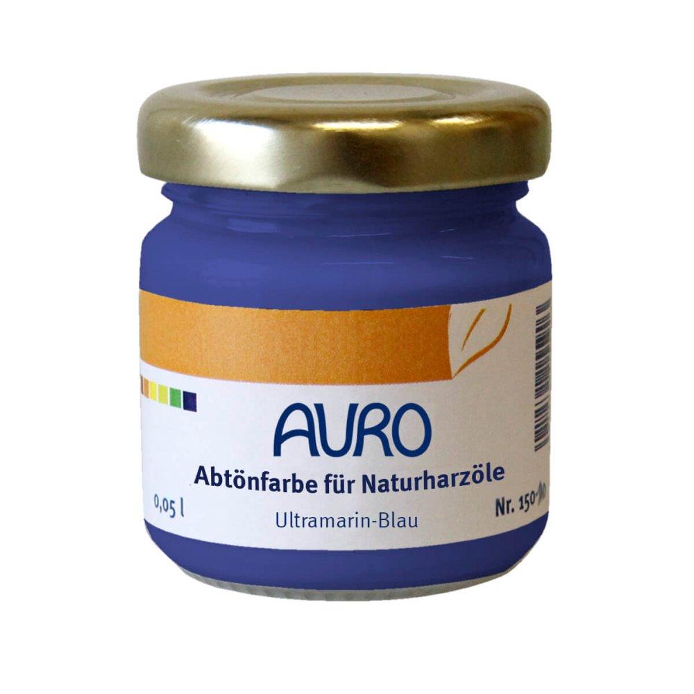 Auro Abtönfarbe für Naturharzöle Nr. 150 - Ultramarin-Blau