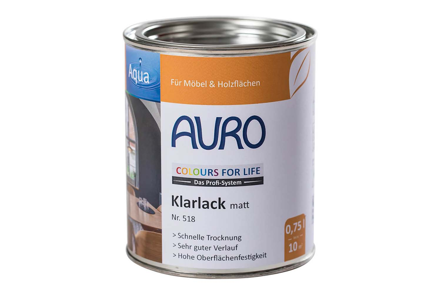 Auro Klarlack matt Nr. 518 Colours for Life