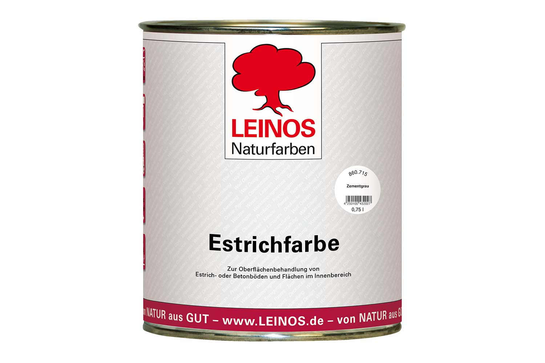 Leinos Estrichfarbe 860 Zementgrau