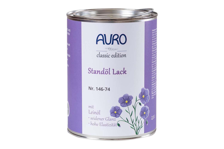 Auro Standöl-Lack Nr. 146 - Grau