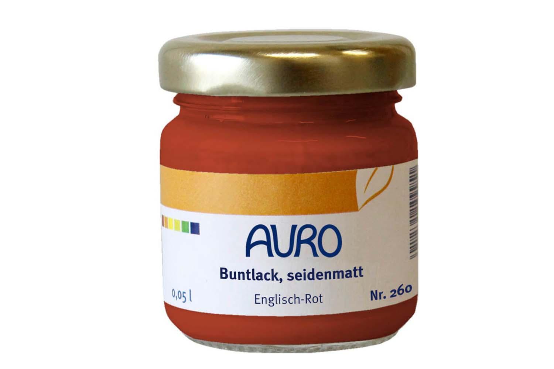 Auro Buntlack seidenmatt Nr. 260 - Englisch-Rot