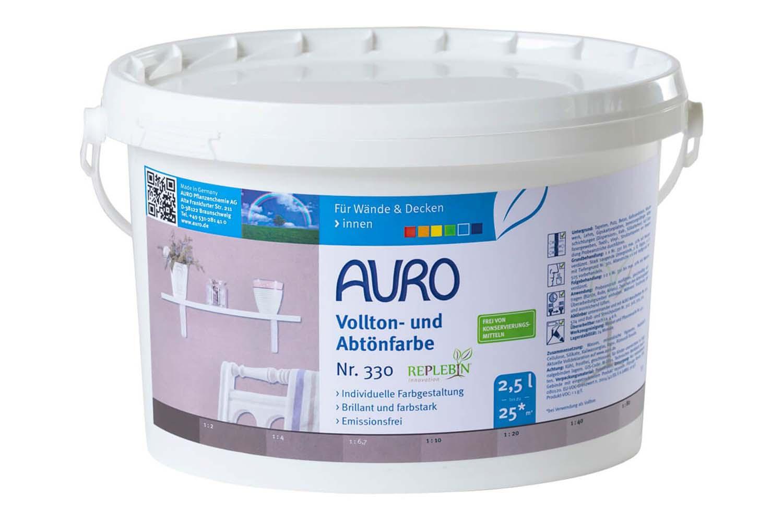 Auro Vollton- und Abtönfarbe Nr. 330 - Umbra gebrannt