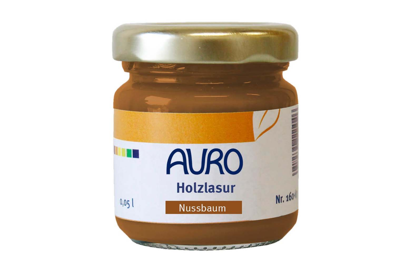 Auro Holzlasur Aqua Nr. 160 - Nussbaum