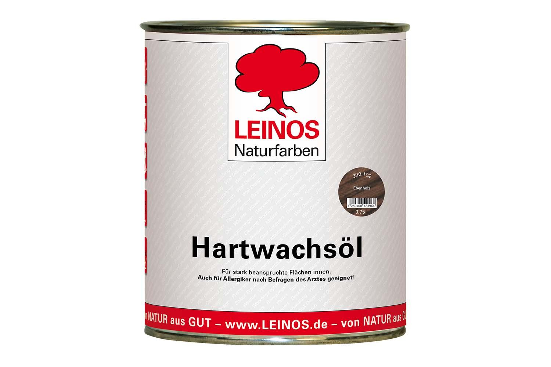 Leinos Hartwachsöl 290 Ebenholz