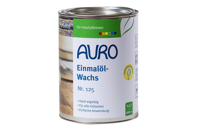 Auro Einmalöl-Wachs Nr. 125