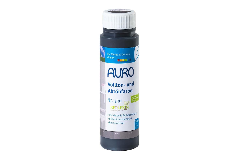 Auro Vollton- und Abtönfarbe Nr. 330 - Erd-Schwarz