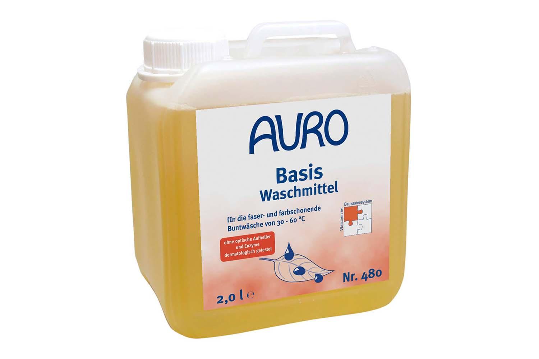 Auro Basis-Waschmittel flüssig Nr. 480
