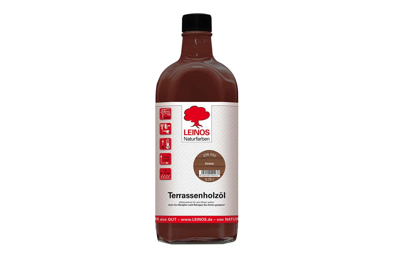Leinos Terrassenholzöl 236 Rötlich