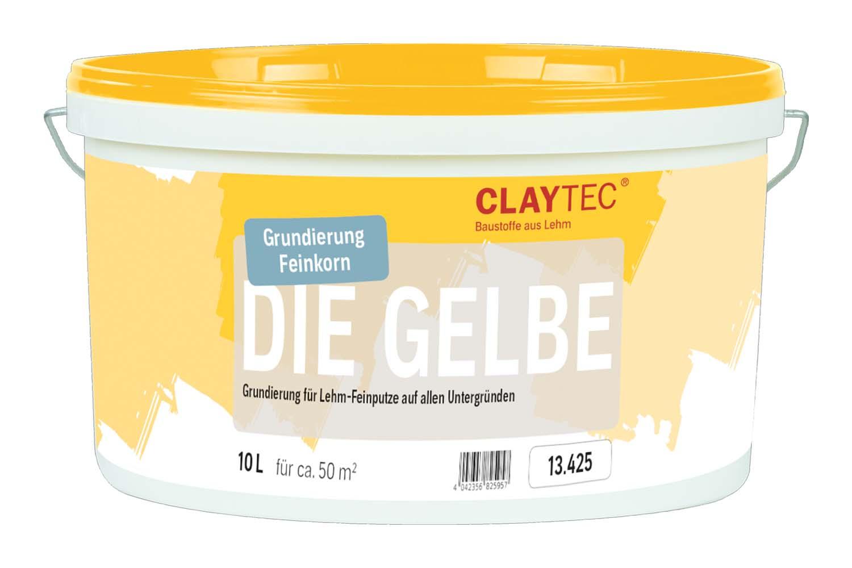Claytec Grundierung DIE GELBE fein