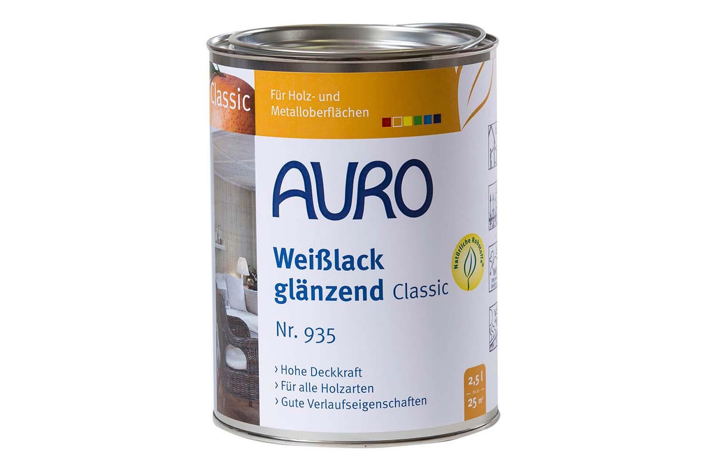 Auro Weißlack glänzend Classic Nr. 935