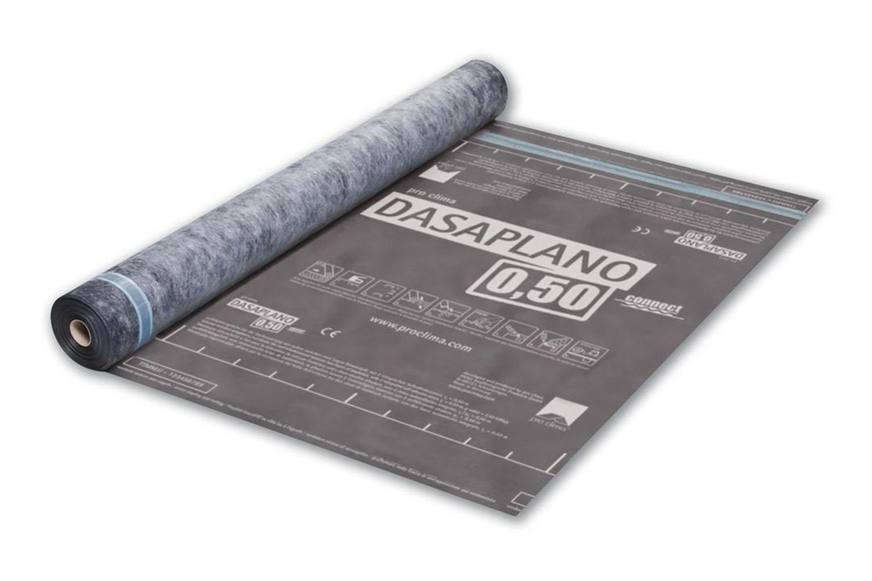 Pro Clima DASAPLANO 0,50 connect Luftdichtungsbahn für die Dachsanierung von außen