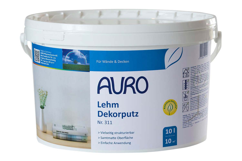 Auro Lehm-Dekorputz Nr. 311