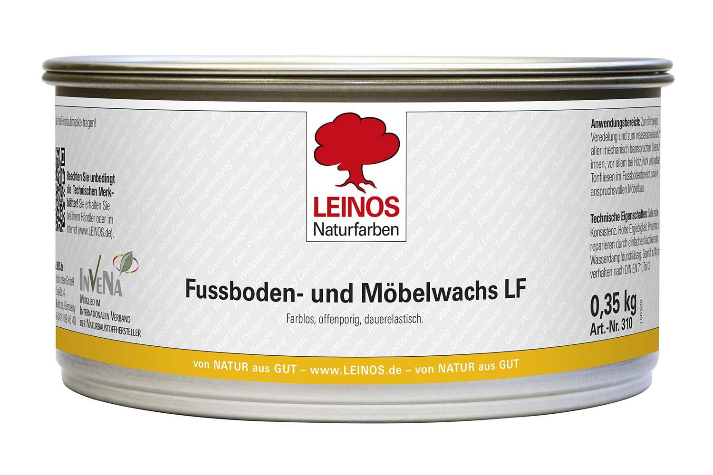 Leinos Fußboden- und Möbelwachs lösemittelfrei 310