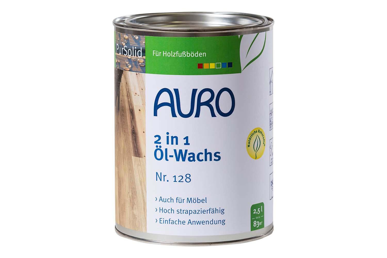 Auro 2 in 1 Öl-Wachs PurSolid Nr. 128