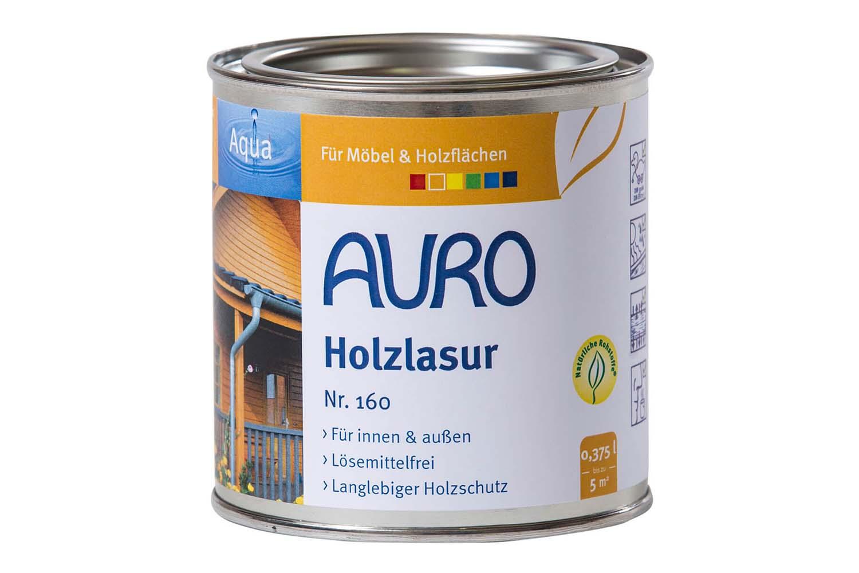 Auro Holzlasur Aqua Nr. 160 - Farblos