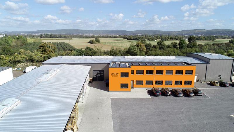WEM-Firmensitz in Urmitz